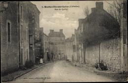 CPA Bretteville Sur Laize Calvados, Rue De Quilly - Andere Gemeenten