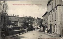 CPA Bretteville Sur Laize Calvados, Rue Du Grand Pont - Andere Gemeenten