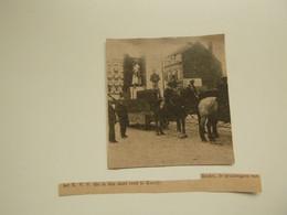 """Origineel Knipsel ( D 582 ) Uit Tijdschrift """" Ons Volk """" 1920 :   Knokke - Zonder Classificatie"""