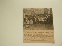 """Origineel Knipsel ( D 583 ) Uit Tijdschrift """" Ons Volk """" 1920 :   Ieper - Zonder Classificatie"""