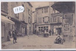 SAINT-FLOUR- PLACE DES TUILES- COMMERCES- PUB SINGER AU MUR - Saint Flour