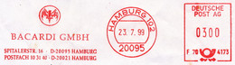 Freistempel Kleiner Ausschnitt 899 Bacardi Fledermaus - Affrancature Meccaniche Rosse (EMA)