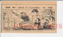 2 Vues Humour Métier Bourreau Hache Décapitation Exécution Moyen-âge Grâce Condamné à Mort Elève Cancre Pauvreté 198PF51 - Ohne Zuordnung
