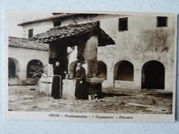 CIVITAVECCHIA - I CAPPUCCINI - CHIOSTRO  1930 X SAN FRANCISCO USA - Civitavecchia