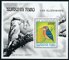 BURKINA FASO 1994 BIRDS KINGFISHER - Burkina Faso (1984-...)