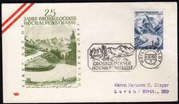 Austria Heiligenblut 1960 / 25 Jahre Grossglockner Hochalpenstrasse / Road / Mountains / Glaciers / FDC - Other