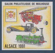 CNEP-1991-N°13** ALSACE.Salon Philathélique De MULHOUSE - CNEP