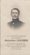 ABL, Chaidron , Laforêt 1891 - Overbroeeke ( Hansbeeke ) - Todesanzeige
