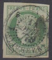 #161# COLONIES GENERALES N° 17 Oblitéré Pondichéry (Inde) - Ceres