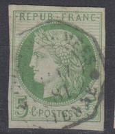#161# COLONIES GENERALES N° 17 Oblitéré CORR D'ARMEES Cayenne (Guyane) - Ceres