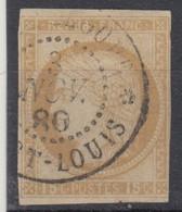 #161# COLONIES GENERALES N° 19 Oblitéré Port-Louis (Guadeloupe) - Ceres