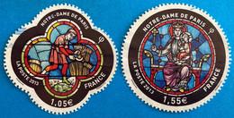 France 2013 : 850e Anniversaire De La Cathédrale Notre-Dame De Paris N° 4714 à 4715 Oblitéré - Oblitérés