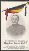 ABL , Eloy , Né à Atrin - Clavier 1894 - Morslede ( Roulers ) 1918 - Todesanzeige