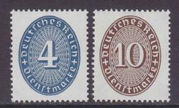 DR Dienst MiNr. 130-131 ** - Dienstzegels