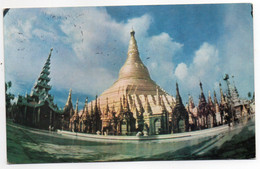 CPM  FORMAT CPA   MYANMAR   1973    THE SHWEDAGON PAGODA - Myanmar (Burma)