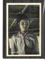 Asie-Laos-XIENG KHOUANG-Portrait D'une Jeune Villageoise LAOTIENNE - Laos