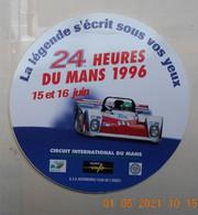 AUTOCOLLANT    24 Heures Du  MANS  AUTO  1996 - Altri