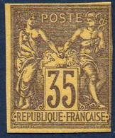 FRANCE ( FAUX ) : TIMBRE  FAUX  SUR  PAPIER  CARTON  ? , POUR  REMPLIR  UNE  CASE ? .R 7 - Sonstige