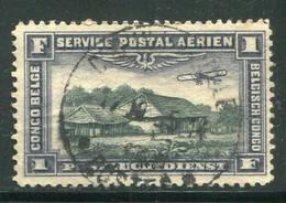 CONGO BELGE- P.A Y&T N°2- Oblitéré - Airmail: Used