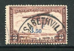 CONGO BELGE- P.A Y&T N°17- Oblitéré - Airmail: Used