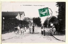 X93041 ♥️ VILLEMOMBLE Travaux Pavage Avenue LONGPERRIER Villageois 03.09.1909 à PALY Gagnac Lot- LE DELEY ELD 9 - Villemomble