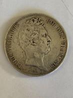 5 Francs Louis Philippe Sans Le I 1830 A - J. 5 Francs