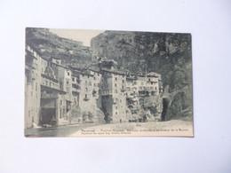 PONT EN ROYANS  -  38  -  Maisons Suspendues Au Dessus De La Bourne  -  Isère - Pont-en-Royans