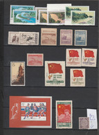 CHINA  COLLECTION  2 PAGES STAMPS MINT AND 2 PAGES SCANS USED - Andere