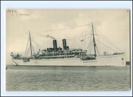 XX13620/ Dampfer S.S. Hamburg AK  Ca.1910 - Piroscafi