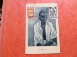 A13/518  CP HAUTE VOLTA  1930 VERSO BLANCO - Covers & Documents