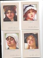 12162 - Lot De 6 CPA , Illustrées Par E. Dupuis, Les Femmes Héroiques - Dupuis, Emile