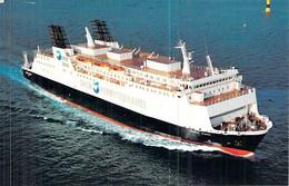 """Cpsm Bateau """"    Monte D'oro """" Cargo Mixte 1990 Le Havre - Commerce"""