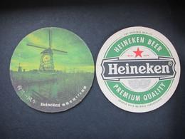 Heineken Beer, Windmills Holland - Portavasos