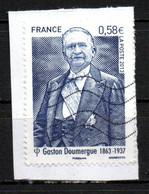 France Oblitéré Used  2013 Doumergue  N° 4793   Cachet Vague - Usati