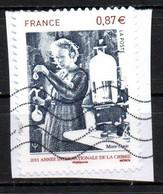France Oblitéré Used  2011 Marie Curie  N° 4532   Cachet Vague - Oblitérés