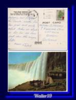 1987 Canada Postcard Niagara Falls Posted London Ontario To Scotland - Cartas