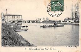 SAINT AIGNAN SUR CHER - Le Cher - Très Bon état - Saint Aignan