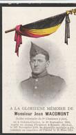 ABL, Wacomont Né à Ochain - Clavier 1892 - Ronsele ) ( Eecloo ) 1918 - Todesanzeige