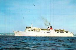 """Cpsm  Bateau """" Comté De Nice """" OU """" Corse """"  Compagnie Gnérale Transméditerranée  C.G.T - Ferries"""