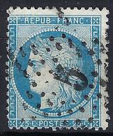 """FRANCE Classique: Le Y&T 60A, Obl. étoile """"5"""" - 1871-1875 Ceres"""