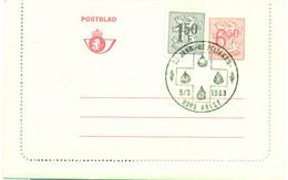 Postblad Nr. 45 IV Met Stempel 25 Jaar De Pelikaan 5-3-1983 Aalst - Cartas-Letras