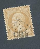 FRANCE - N° 21 OBLITERE GC 904 CHARONNE SEINE - 1862 - COTE : 10€ - 1862 Napoleon III