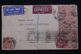 JERSEY - Oblitération Jersey Channel Sur Enveloppe En Recommandé Pour La France En 1932 - L 96820 - Jersey