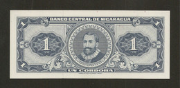 Nicaragua, 1 Cordoba, 1968 Decreto 25.5.1968 - Nicaragua