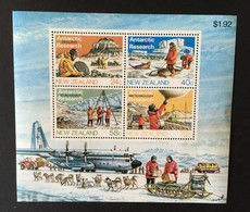 (stamp 1-5-2021) New Zealand - M/S - Antarctic Territory Research - Unclassified