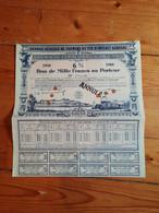CHEMIN DE FER DE PARIS A ORLEANS. 1934-1949. Bon 1000 F. - Railway & Tramway