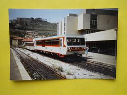 Photo TRAMWAY , Collection Bourneuf ,lire Descriptif  , Gare De Bastia ,autorail - Trains