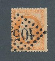 FRANCE - N° 31 OBLITERE AVEC PIQUAGE OUEST - 1868 - COTE : 25€ - 1863-1870 Napoleon III Gelauwerd