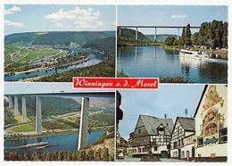 Winningen Mit Moseltalbrückel - 4 Ansichten - Lkr. Mayen-Koblenz - Koblenz