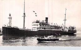 "Cpsm  Bateau ""Fred Scamaroni "" Corse. Ajaccio Compagnie Générale Transméditerranée CGT 1923 Frederikstad Norvège - Transbordadores"